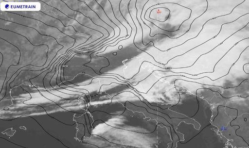 La borrasca Hervé deja rachas cercanas a 200 km/h en Córcega