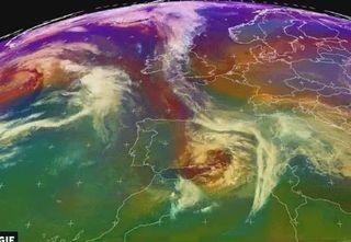 La borrasca mediterránea Flora y su particular ciclogénesis