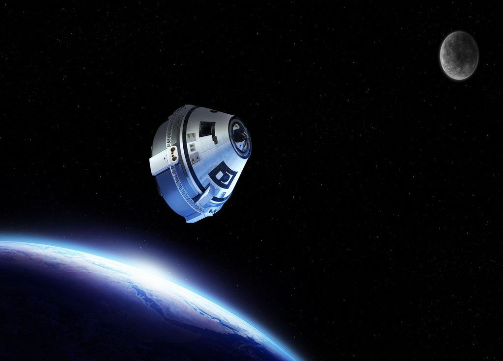 ISS boeing starliner