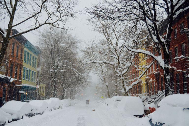 La Costa Este Americana Se Prepara Para Una Gran Tormenta De Nieve