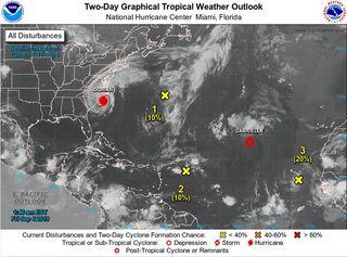 La cuenca Atlántica muy activa en cuanto a ciclones tropicales