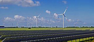 La energía eólica y solar: representa el 10 % de la energía mundial