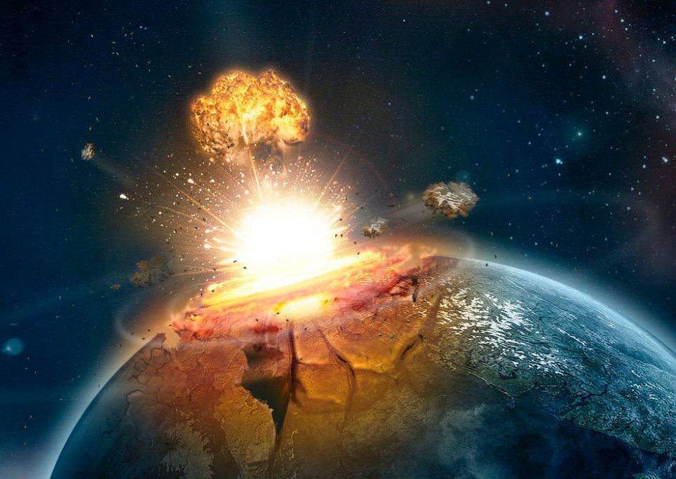 Meteorito impacto