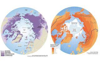 La fusión del permafrost en el punto de mira climático