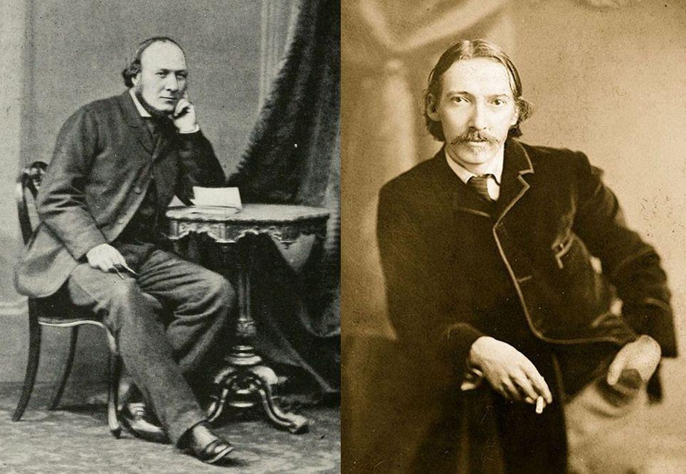 """""""Thomas Stevenson"""" """"Robert Louis Stevenson"""""""