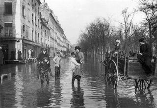 La gran inundación de París de 1910: la peor de los siglos XX y XXI