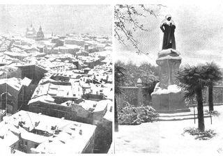 La gran nevada de Madrid de noviembre de 1904