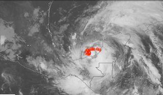 La increíble tormenta tropical Cristóbal: El Golfo amenazado