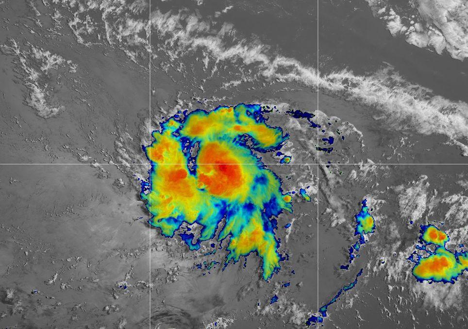 La tormenta tropical Gonzalo acaba de nacer y ya ha batido un récord