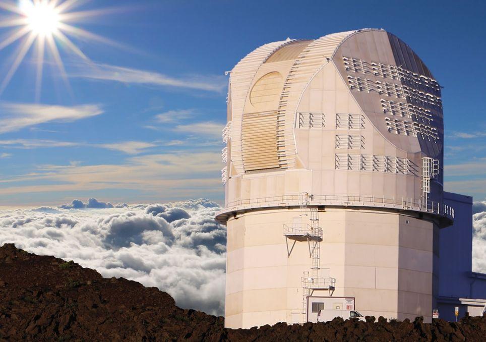 Teleskop, Astronomie, Sonne, Oberfläche, Sonnensturm, Strahlung, Hawaii, Maui