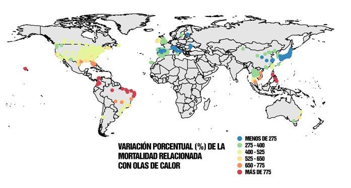 La Mortalidad Por Olas De Calor Aumentará En El Futuro Debido Al Cambio Climático