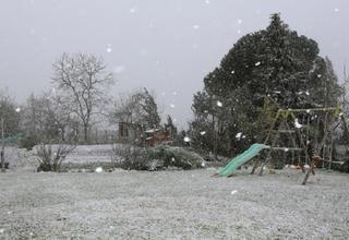 La neige s'invite en plaine pour terminer le mois de mars !