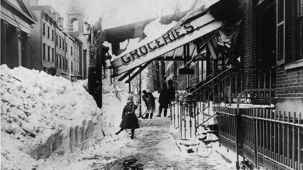 Nueva York ventisca 1888 blizzard