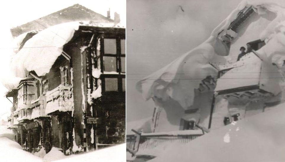 Reinosa 1888 nevadona casas sepultadas nieve