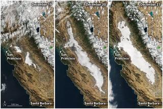 La niebla Tule de California