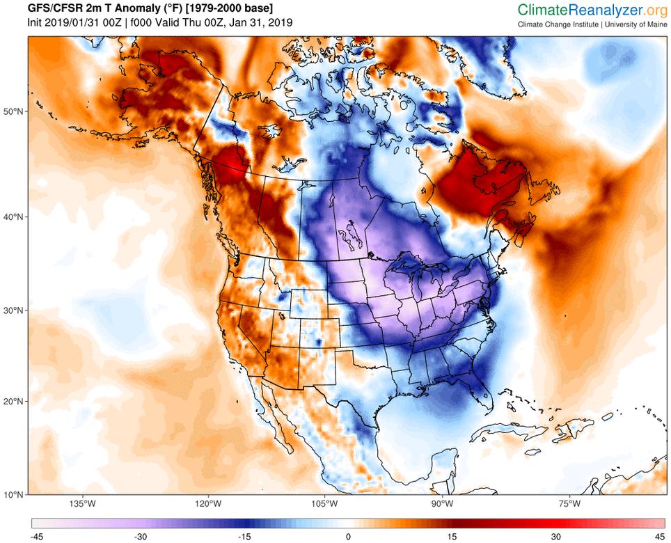 La Ola De Frío En América Del Norte En Cifras