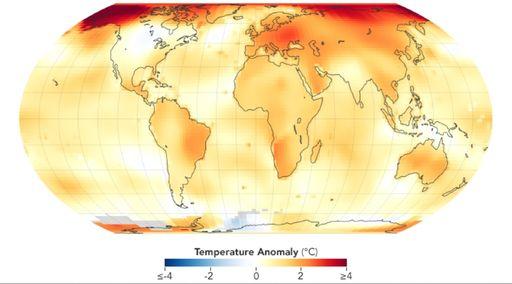 La OMM confirma que 2019 fue el segundo año más caluroso registrado