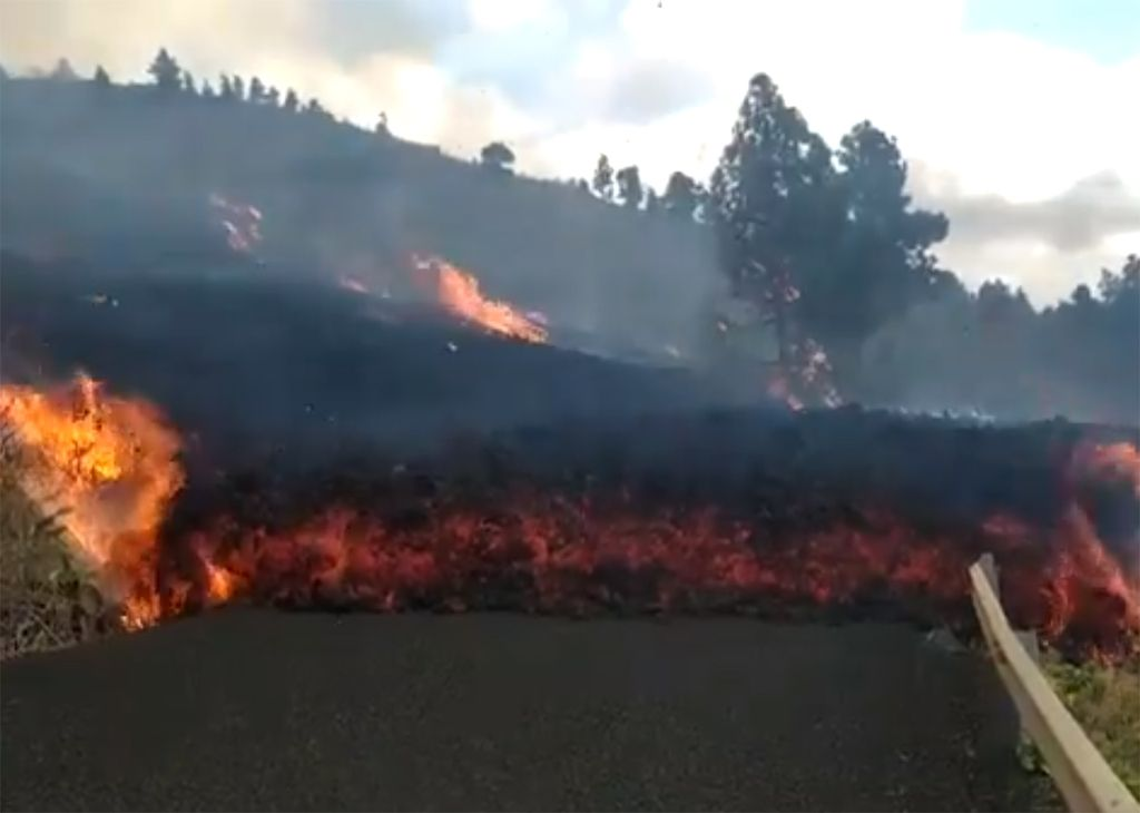 Lava La Palma