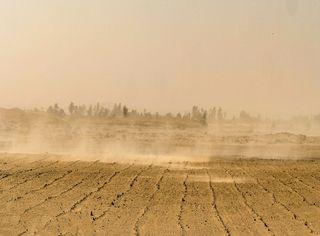 La polvere del Sahara arriva in Europa