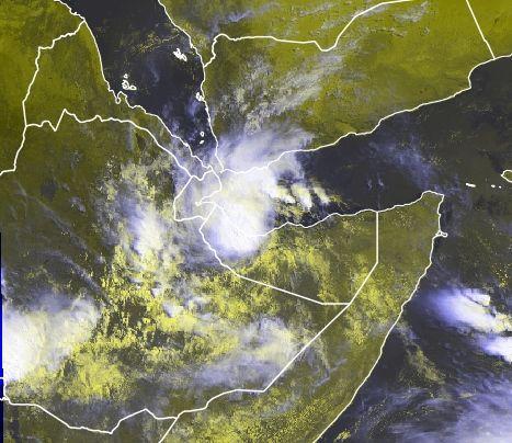 La Rara Tormenta Tropical Sagar