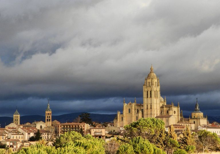 Segovia tormenta