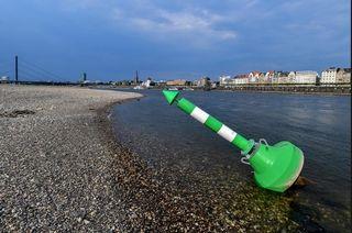 La sequía paraliza las vías navegables alemanas