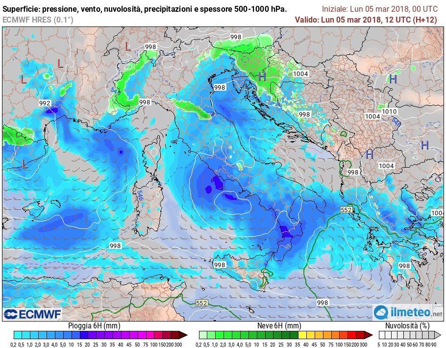 ecmwf-precipitazioni