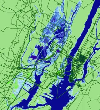 La subida del nivel del mar también amenaza a Internet
