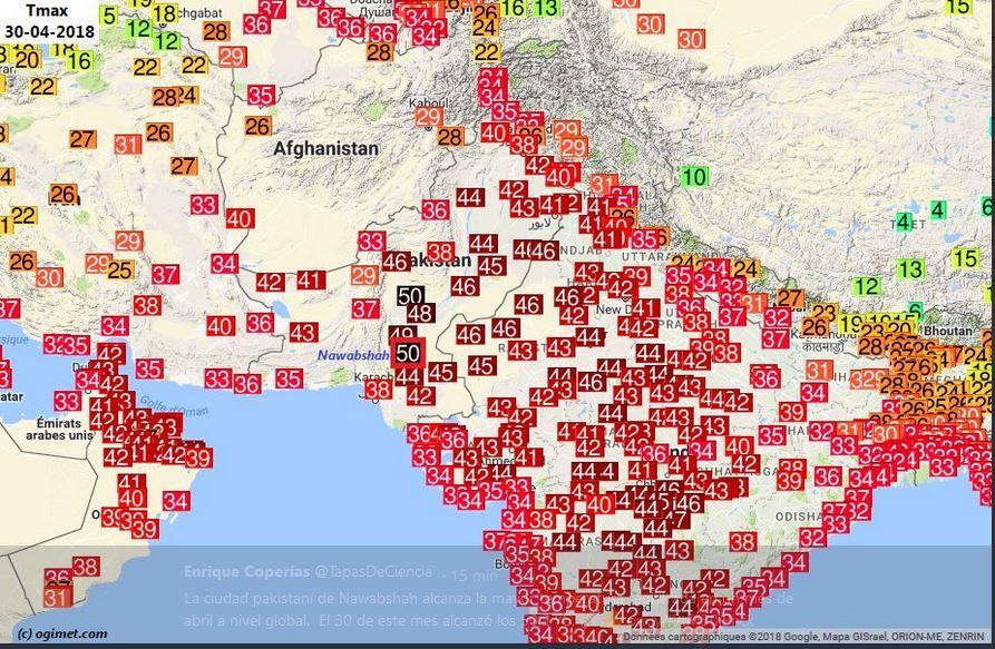 La Temperatura Más Cálida De Abril Jamás Vista En La Tierra