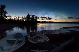 La temporada de auroras árticas comienza