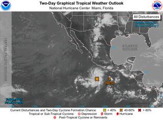 La tormenta tropical Andres más cerca de su formación