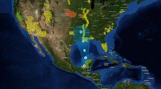 La tormenta tropical Cristóbal: sus singularidades más llamativas