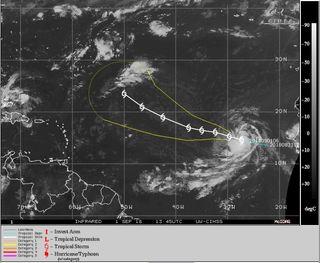 La tormenta tropical Florence se ha formado en el Atlántico