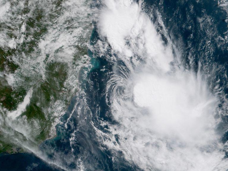 Iba tormenta tropical Brasil