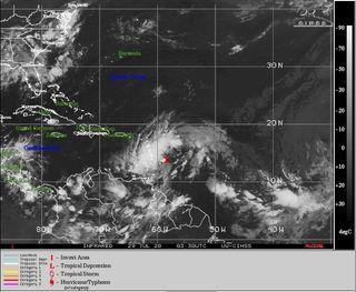 La tormenta tropical Isaías se podría formar sobre aguas caribeñas