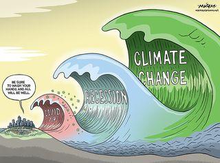 La última ola será la del cambio climático