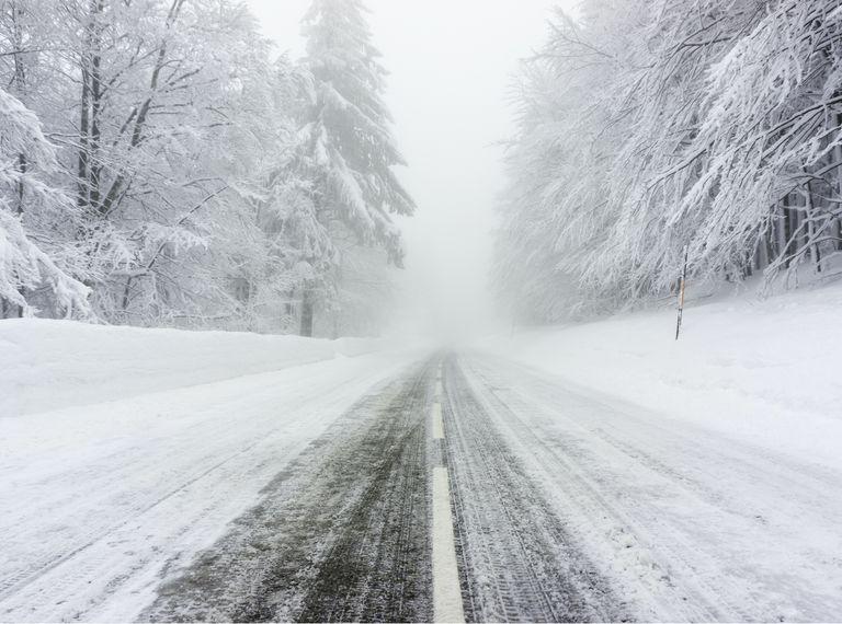 route gelée