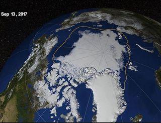 La variabilidad natural del clima explica casi la mitad de la pérdida de hielo en el mar Ártico