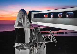 Lançamento da parceria SpaceX e NASA foi adiado para este sábado