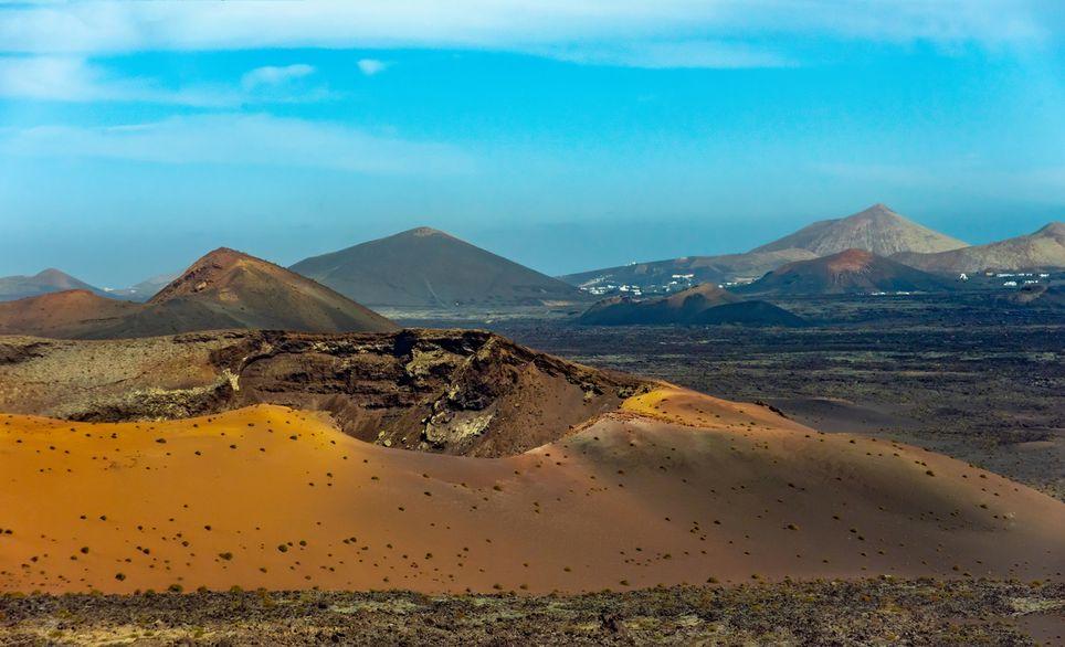 Parque volcánico de Lanzarote