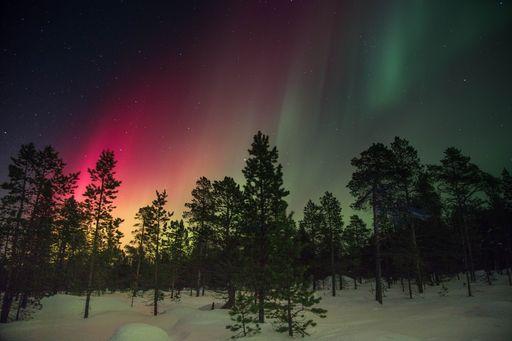 Las auroras crean óxido de nitrógeno en la noche polar y destruyen O3