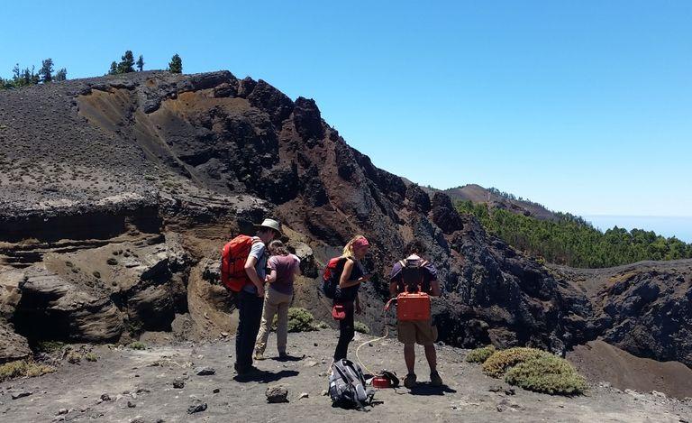 Las Emisiones De Co2 En El Volcán Cumbre Vieja De La Palma Aumentan Levemente