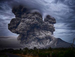 Las erupciones volcánicas reducen la precipitación global