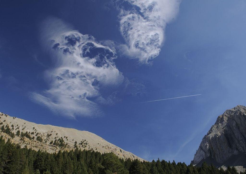 Nube fantasma pirenaica