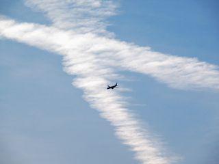 Las estelas de aviones se reducen hasta un 90% en Europa