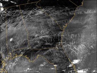 Las estelas de condensación de aviones y su papel en el calentamiento global de la Tierra