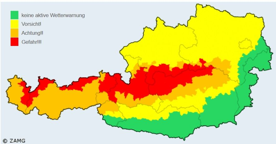 Las Fuertes Nevadas En Austria: Muertos Por Avalanchas Y Estaciones De Esquí Cerradas