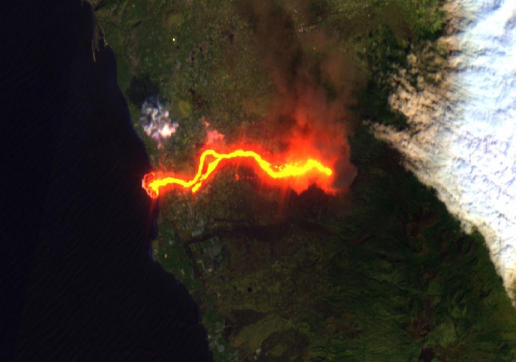 Imagen de satélite Copernicus