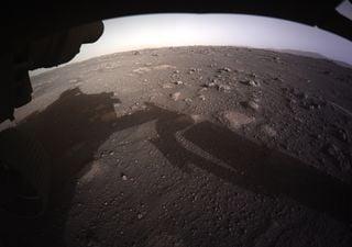 As primeiras imagens marcantes captadas pelo Perseverance em Marte