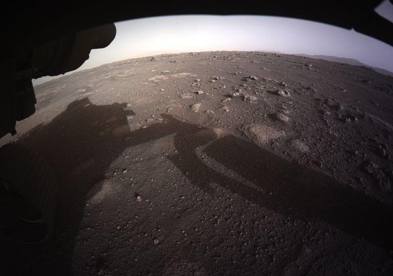 Perseverance on Mars.
